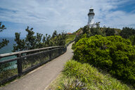 Byron Bay lighthouse called Cape Byron Light, New South Wales, Australia - RUNF02203