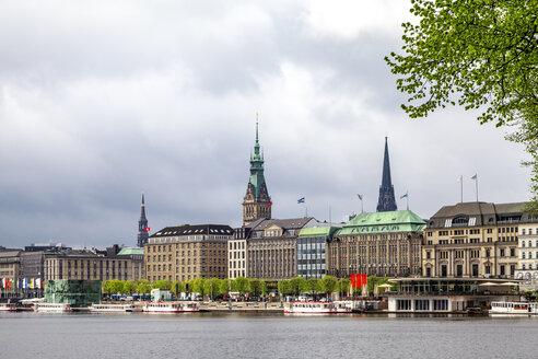 Aussenalster, Hamburg, Deutschland - PUF01534