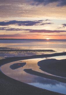 Sunrise over North Sea, Sylt, Germany - IHF00059