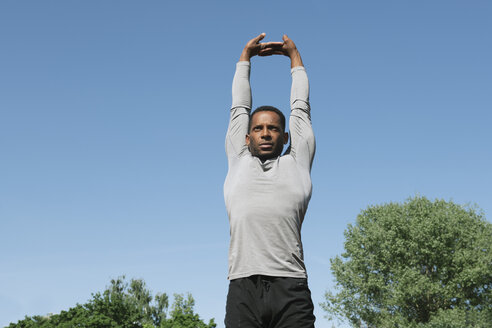 Sportsman stretching his arms - AHSF00414