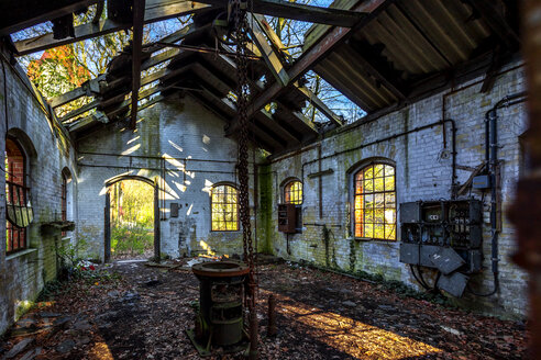 Ruin, Beelitz-Heilstaetten, Brandenburg, Germany - PU01609