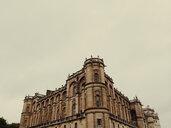 Low angle view of ornate historic building, Paris, Ile-de-France, France - BLEF05755