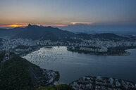 View from the Sugarloaf Mountain, Rio de Janeiro, Brazil - RUNF02388