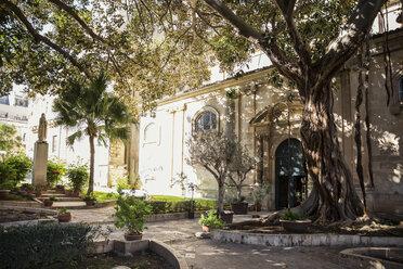 Garden of San Giovanni Cathedral, Ragusa, Sicily, Italy - MAM00741