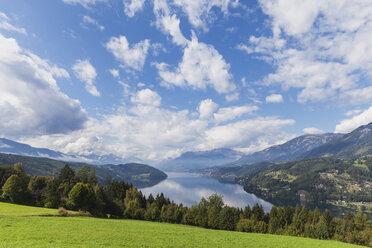 View towards Millstatt and Seeboden, Millstatt Lake, Carinthia, Austria - GWF06076