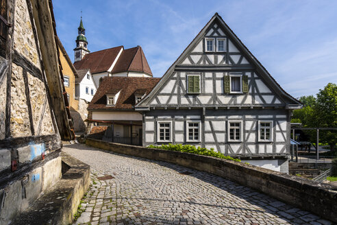 historische Altstadt, Waiblingen, Rems-Murr-Kreis, Baden Württemberg, Deutschland - STSF02014