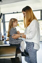 Serbia, Novi Sad, Mother and daughter, Kitchen, Togetherness - ZEDF02338
