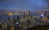 Hong Kong Central skyline and Victoria Harbour, Hong Kong, China - HSIF00660