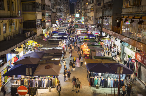Fa Yuen Street Market, Hong Kong, China - HSIF00672