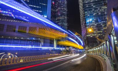 Hong Kong Central at night, Hong Kong, China - HSIF00702