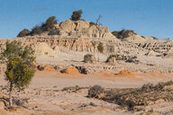 UNESCO World Heritage Mungo National Park, part of the Willandra Lakes Region, Victoria, Australia - RUNF02539
