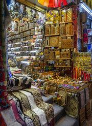 Mutrah Souq, traditional bazaar, Mutrah, Muscat, Oman - WW05117