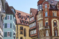 Houses in the old town, Tuebingen, Baden-Wuerttemberg, Germany - MRF02011