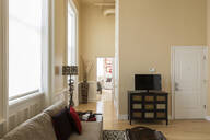 Modern living room and corridor - MINF11816
