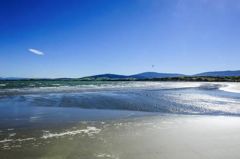 Te waewae bay, along the Road from Invergargill to Te Anau, South Island, New Zealand - RUNF02651