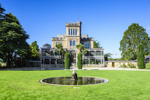 Larnach castle, Otago peninsula, South Island, New Zealand - RUN02663
