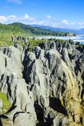 Pancake Rocks, Paparoa National Park, South Island, New Zealand - RUNF02666