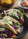 Close up of taco plate - MINF12618