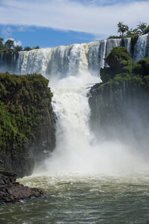 Largest waterfalls Unesco world heritage sight Foz de Iguazu, Argentina - RUNF02771