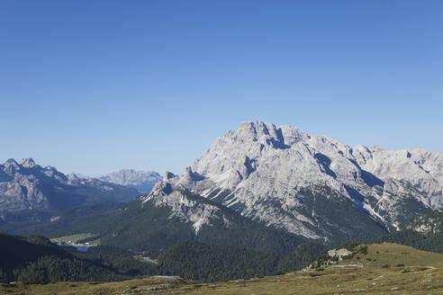 Misurina Lake, Tre Cime di Lavaredo Area, Nature Park Tre Cime, Unesco World Heritage Natural Site, Sexten Dolomites, Italy - GWF06102