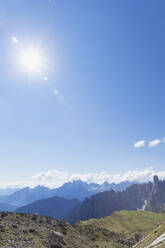 Tre Cime di Lavaredo Area, Nature Park Tre Cime, Unesco World Heritage Natural Site, Sexten Dolomites, Italy - GWF06111