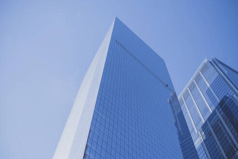 Skyscrapers and blue sky, Manhattan, New York City, USA - MMAF00973