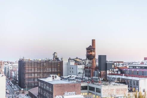 View on Williamsburg, New York City, USA - MMAF00991