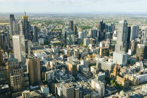 Cityscape of Melbourne, Victoria, Australia - KIJF02494