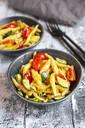 Schupfnudeln with zucchini, leek, tomato and cheese - SARF04311