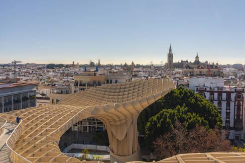 Cityscape with Metropol Parasol, Seville, Spain - TAM01558