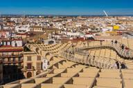 Cityscape with Metropol Parasol, Seville, Spain - TAM01561