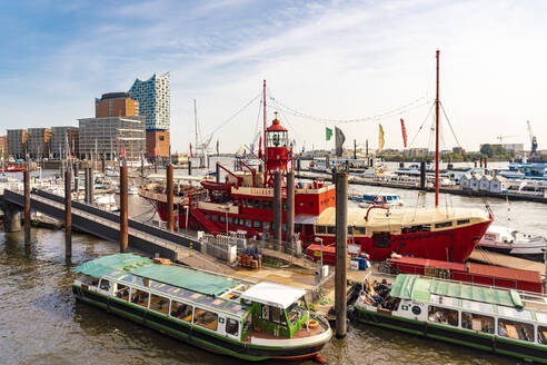 Landing Stages and Elbphilharmonie, Hamburg, Germany - TAMF01606