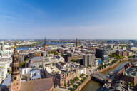 Cityscape with Hafencity and Speicherstadt, Hamburg, Germany - TAMF01648