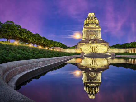 Monument to the Battle of the Nations, Leipzig, Germany - HNF00816