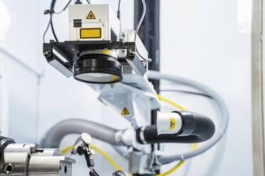 Laser marking system inside modern factory, Stuttgart, Germany - DIGF07195