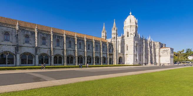 Portugal, Lissabon, Belém, Mosteiro dos Jerónimos, Hieronymuskloster, Kloster, Unesco-Welterbe - WDF05296