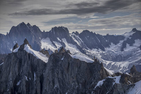 Snowy Mont Blanc in Alps, France - BLEF09902