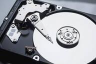 Close up open external hard disk drive - FSIF04311