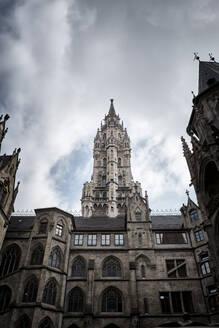 Courtyard of New City Hall, Munich, Germany - EL02025