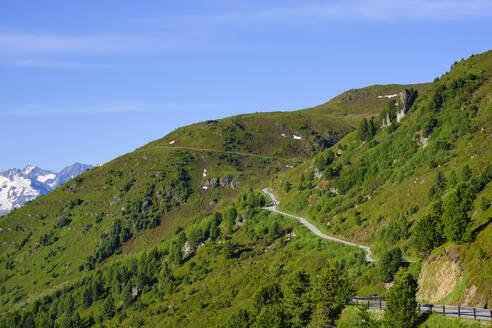Zillertaler Höhenstraße bei Hippach, Tuxer Alpen, Zillertal, Tirol, Österreich - SIEF08788