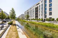 Passive house development area, Bahnstadt, Heidelberg, Germany - WDF05347