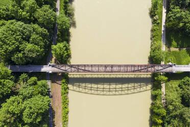 Germany, Lower Bavaria, Bockerl Bridge near Landau an der Isar - SIEF08807