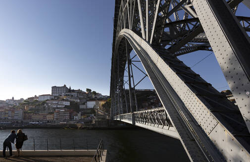 Luiz I Bridge and Douro river, Porto, Portugal - FC01778