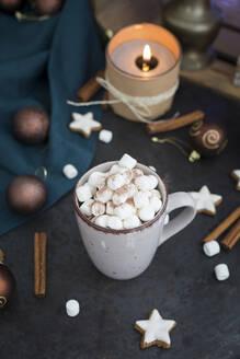 Deutschland, Bayern, Passau, Weihnachten mit Kakao - JUNF01695