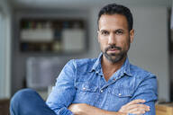 Portrait of a confident man at home - DIGF07780