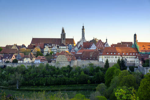 Rothenburg ob der Tauber, Mittelfranken, Franken, Bayern, Deutschland - LBF02656