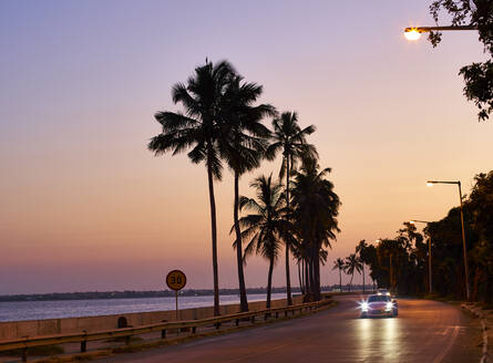 Waterfront of Maputo at sunset, Mozambique - VEGF00466