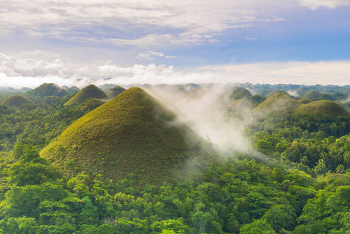 Chocolate Hills, Bohol, Central Visayas, Philippines, Southeast Asia, Asia - RHPLF00033
