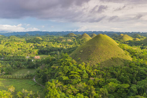 Chocolate Hills, Bohol, Central Visayas, Philippines, Southeast Asia, Asia - RHPLF00036
