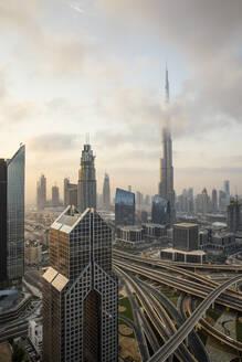 Burj Khalifa, Dubai, United Arab Emirates, Middle East - RHPLF01287